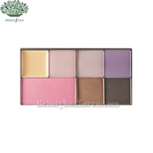 INNISFREE Sidney's Vintage Rose Make Up Set [My Palette-Summer Cool Mute ],INNISFREE